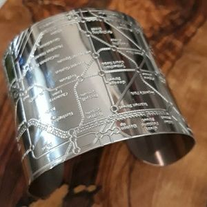 Underground Design Hype Inc London Cuff Bracelet